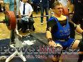 Zoltán Kanát, benč 245kg