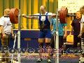 Pavel Župka, dřep 275kg