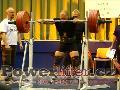 Antonín Pavlovec, dřep 290kg