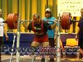 Petr Theuser, dřep 342,5kg