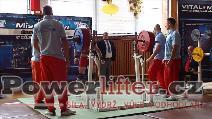 Karel Ruso, dřep 270kg