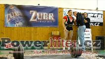 Petr Folprecht, 325kg, extra pokus