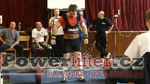 Pavel Malina, mrtvý tah 170kg