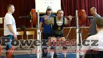 Libor Novák, dřep 210kg
