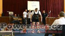 František Vincourek, mrtvý tah 260kg