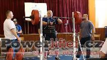 Martin Škorvánek, dřep 230kg