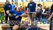 Emil Mojžíšek, 172,5kg