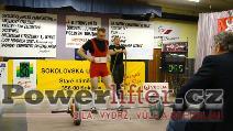 Michal Polák, 192,5kg