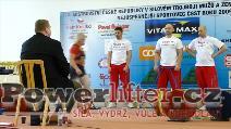 Jana Hrabalová, 162,5kg