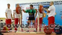 Václav Jaremczuk, 275kg