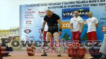 Antonín Pavlovec, 250kg