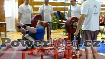 Martin Šumbera, 232,5kg