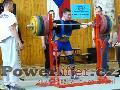 Zoltán Kanát, dřep 315kg, M1 do 125kg