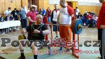Květoslav Grobař, benč 170kg, český rekord v M3 do 110kg