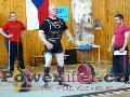 Květoslav Grobař, mrtvý tah 255kg, český rekord v M3 do 110kg
