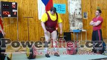 Milan Mrázek, 250kg