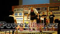 Jiří Lacina, CZE, 255kg