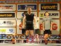Roland Asmus, GER, mrtvý tah 250kg, muži M2 do 75kg