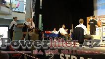 Rolf Hampel, GER, dřep 300kg, muži M1 do 82,5kg