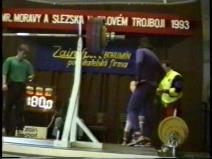 Pavel Malina, dřep 180kg, český rekord