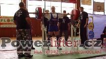 Pavel Župka, dřep 270kg, maximální hloubka