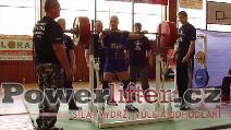 Antonín Pavlovec, dřep 260kg