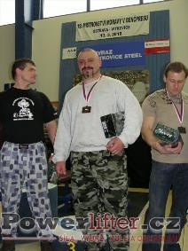 Tomáš Šeděnka - 1.místo do 125kg