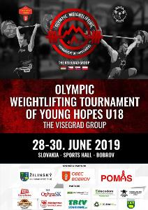 VISEGRAD 4 Tournament in Weightlifting of Olympic Hopes 2019
