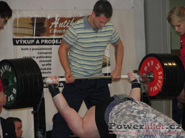 Vladimír Kendiura, 215kg