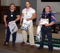 Vyhlášení výsledků - muži nad 100kg