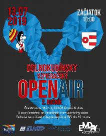 Dolnokubínsky Open Air vo vzpieraní - 2. ročník