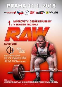 1. Otevřené mistrovství ČR v klasickém (RAW) silovém trojboji masters