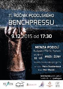 11. ročník Podolského benchpressu
