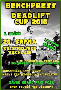 Benchpress & Deadlift Cup 2015