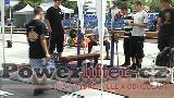 Ostravské sportovní hry 2012 - exhibice v benčpresu a mrtvém tahu, atletika