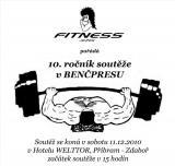 Invitation to the 10th annual competition in benchpress, Pribram