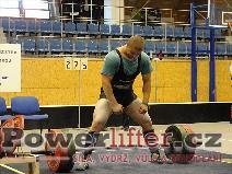 Filip Sobotka, mrtvý tah 275kg
