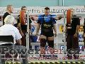 Jan Beneš, CZE, 255kg