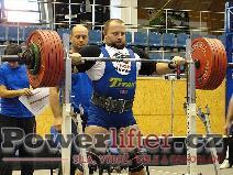 Jaroslav Jirout, dřep 300kg