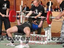 Jiří Opluštil, benč 135kg