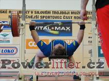 Martin Šumbera, benč 220kg