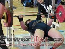 Patrik Přibyl, benč 135kg