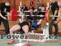 Rémy Krayzel, benč 160kg