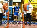 Jakub Sedláček, dřep 295kg, junior do 83kg