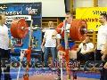 David Lupač, dřep 325kg, junior do 120kg