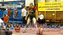 Simona Vráblová, mrtvý tah 137,5kg, vždy s úsměvem