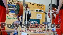 Stanislav Balvín, benč 245kg
