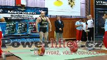 František Stříska, mrtvý tah 255kg
