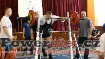 Jan Motal, dřep 160kg