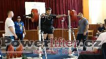 Pavel Žák, dřep 240kg